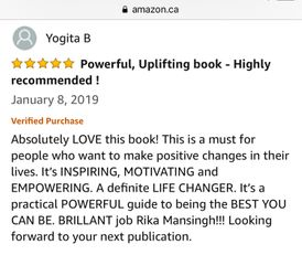 Yogita B Amazon Review