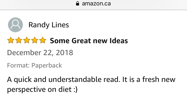 Randy Lines Amazon Review